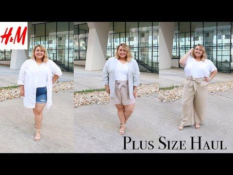 ОДЕЖДА PLUS SIZE из H&M+ || Распродажа, на море и осень