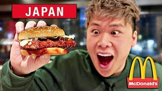 Canadians Try Japanese McDonald's! (MCDONALD'S IN JAPAN)