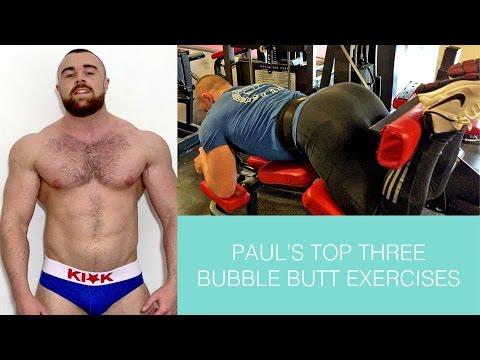 Paul's top three bubble butt exercises thumbnail