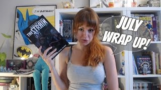 Comic & Graphic Novel Reviews | July 2016 Wrap Up!