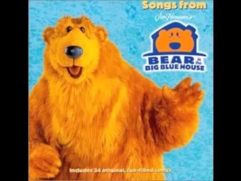 Bear In The Big Blue House Goodbye Song Piano Version Youtube