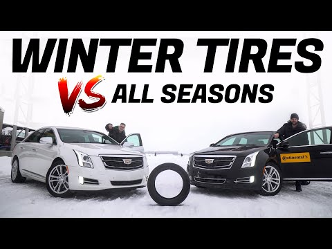 Here's Why You Need Winter Tires Instead of All-Season Tires