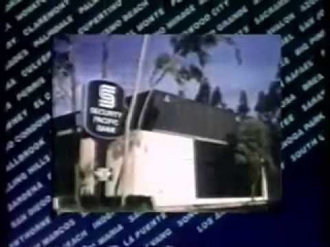 Security Pacific Bank Commercial Ad 1981