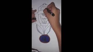 TEK GÖZ KARAKTER ÇİZİMİ / HOW TO DRAW A ONE EYE GRAFFİTİ CHARACTERS #1