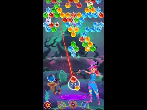 Bubble Witch Saga 3 Level 498 - NO BOOSTERS 🐈