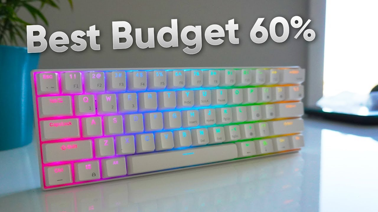 The Best Budget 60% Gaming Keyboard - RK61 Review
