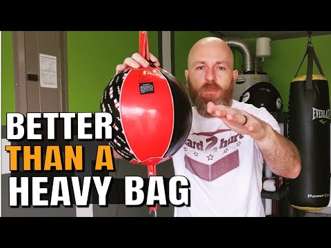 The Double End Bag Is Better For A Home Gym | Homemade DIY Boxing Equipment