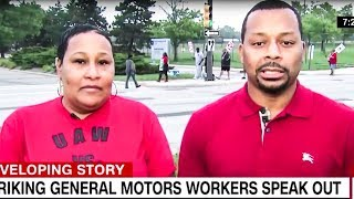 Auto Workers Band Together In Historic Strike Against GM