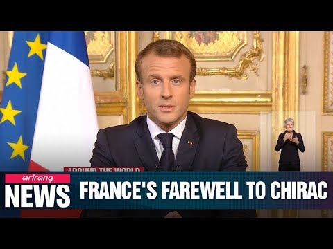 """France bids farewell to late Jacques Chirac, Macron calls him """"great Frenchman"""""""
