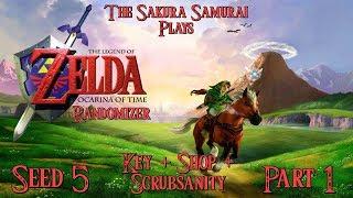 The-Sakura-Samurai Plays - Ocarina of Time Randomizer (Key + Shop + Scrubsanity) Part 1