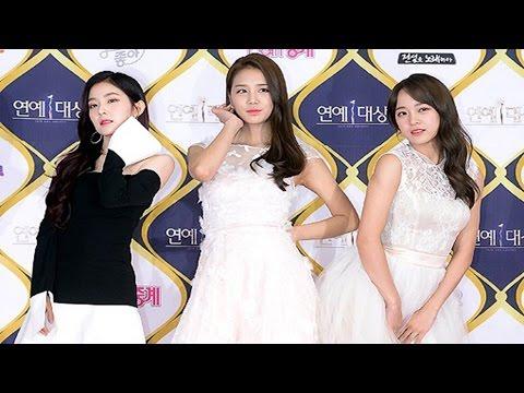 SeJeong(세정)·IRENE(아이린) 'KBS Entertainment Award' Photo Time (Red Velvet, Gugudan, 구구단, 레드벨벳) [통통영상]