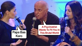 Alia Bhatt TRIES Hard To STOP Mahesh Bhatt SHOUTING | Pooja Bhatt Calls Bollywood Fake