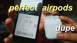 PERFECT AIRPODS DUPE! (INPODS 12) unboxing & review