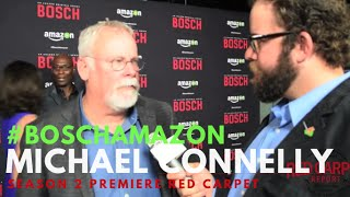 "Michael Connelly at the ""Bosch"" Season 2 Premiere from Amazon #BoschAmazon"