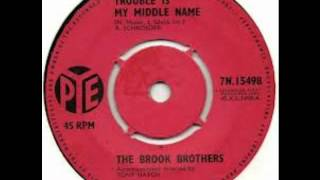 The Brook Brothers - Trouble Is My Middle Name