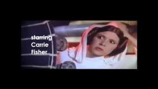 Star Wars, Space 1999 intro style
