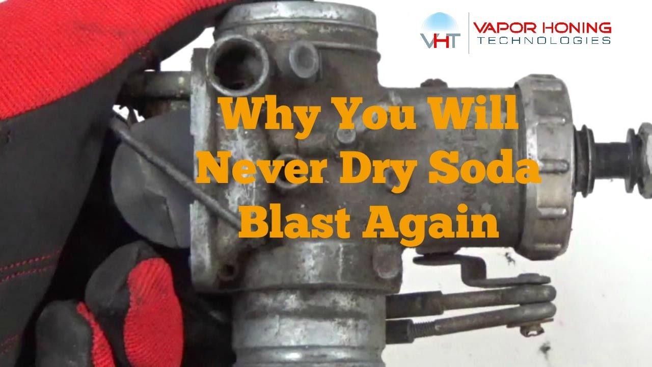 Wet Soda Blasting A Motorcycle Carburetor Vapor Honing Technologies You