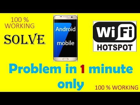 How To Fix Hotspot Problem in android mobile Latest Video