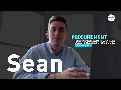 Life @ LM: Meet Sean, a Procurement Rep