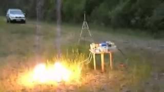Демонстрация генератора бесплатной энергии который вам не покажут на ТВ