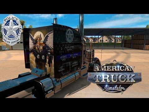 Dallas Pd Tribute and Rant- ATS American Truck Video