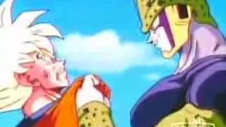 goku vs cell - scatman