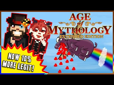 Age of Mythology Extended Edition - FEEL THE WRATH OF THE PURPLE HIPPO OF LOVE/DEATH!