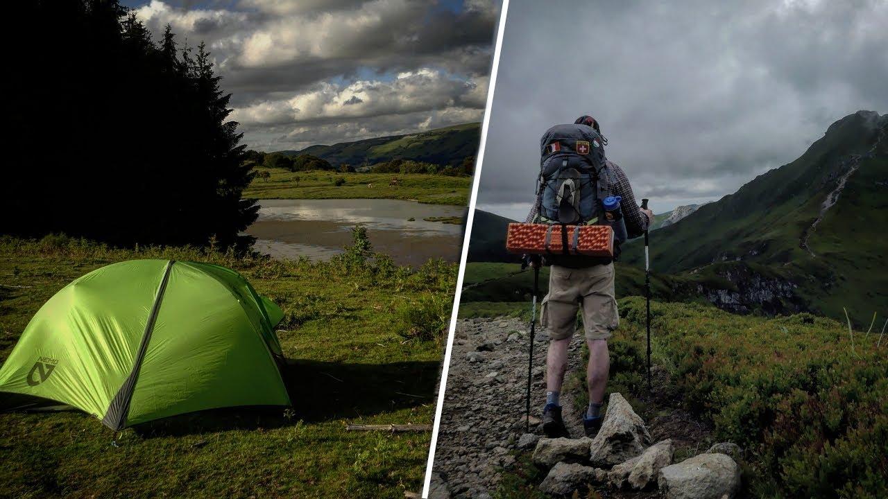 4 jours seul sur les volcans d'Auvergne