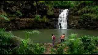 Sawyer and Kate 1x12 Waterfall