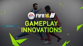 FIFA 16 Gameplay Innovations: Defense, Midfield, Attack