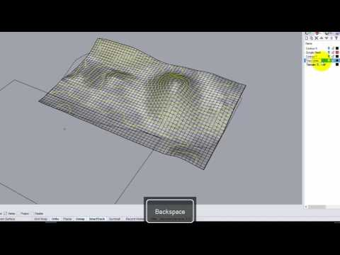 Lecture 213 - Topographic Physical Models (Part 2) (Fall 2016)