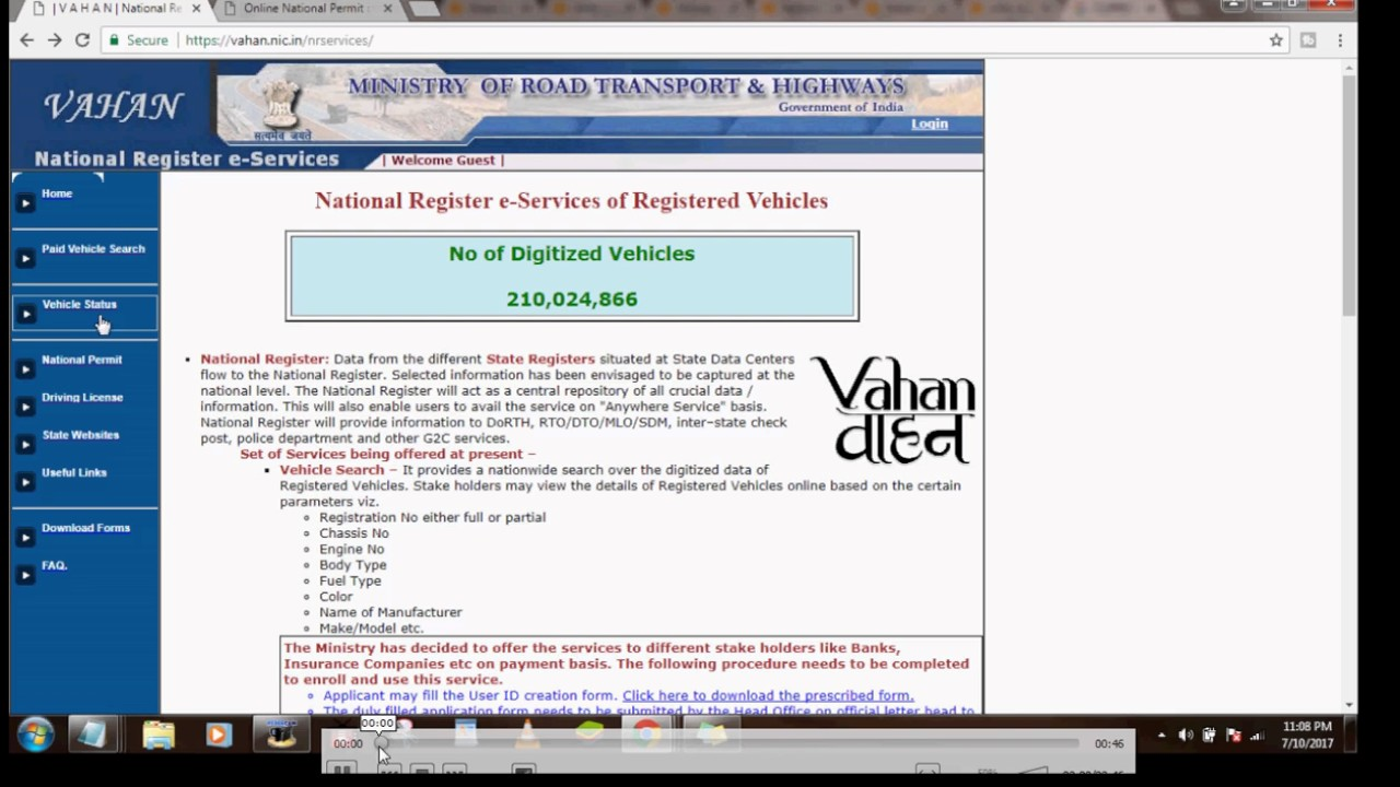 How Check Vehicle Registration Status