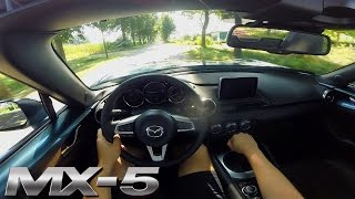 Mazda MX 5 2017 Test Drive POV Acceleration Sound