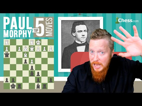 Paul Morphy's 5 Most Brilliant Chess Moves