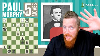 Download Paul Morphy's 5 Most Brilliant Chess Moves