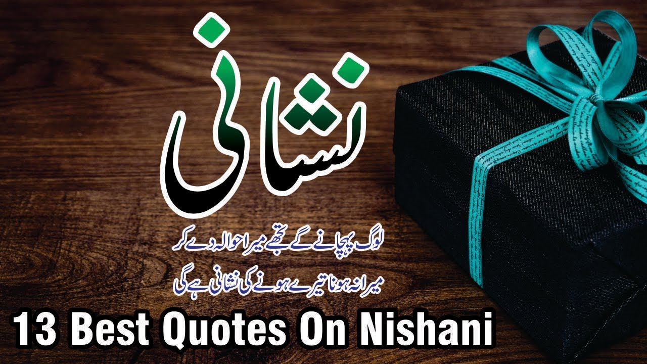 Nishani 13 best urdu quotes with images and voice || life changing amazing  urdu lines