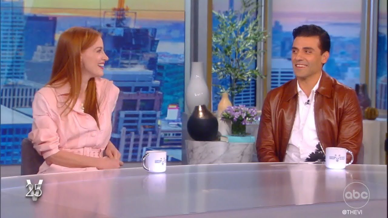 """Download Jessica Chastain, Oscar Isaac on Flipping Gender Clichés in """"Scenes From A Marriage""""   The View"""