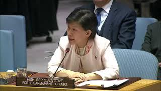 中満泉と天野之弥: 4/2/2019 国連安保理  核拡散防止条約NPT会合