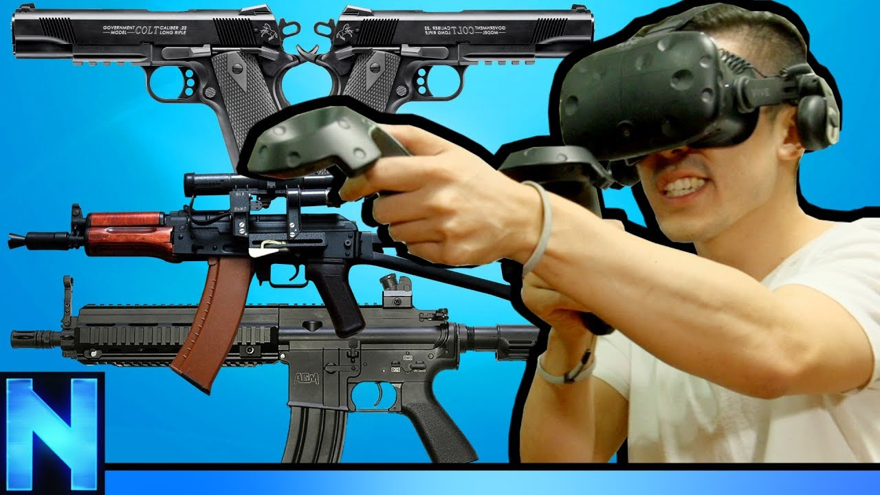 We're Addicted To GUN GAME In VR!