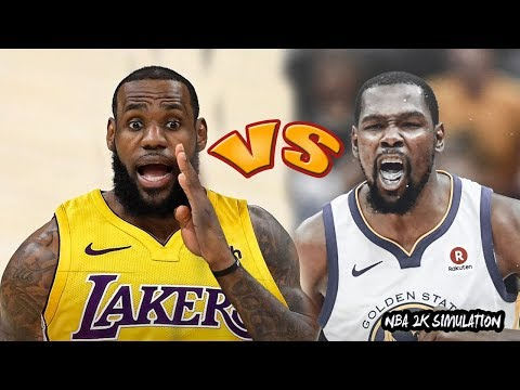Golden State Warriors vs Los Angeles Lakers | NBA 2K18