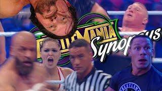 Обзор Wrestlemania 34 или 7 ЧАСОВОЙ ПРЫКОЛ (Synopsys)