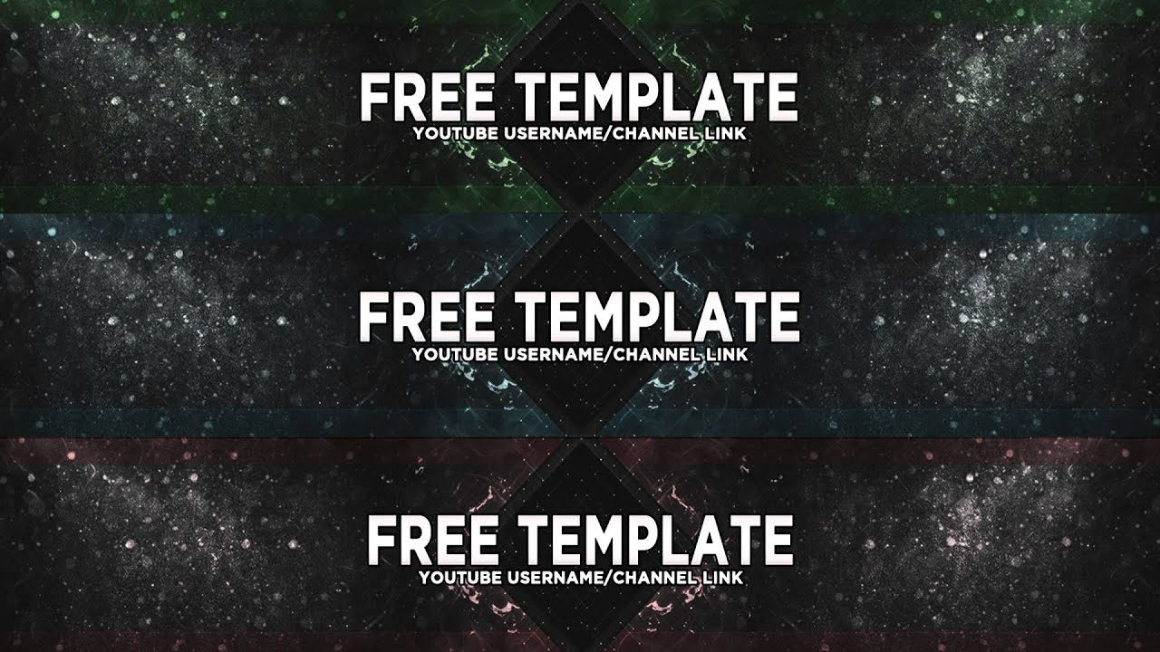 NEW Free Youtube Background Template - PSD - YouTube