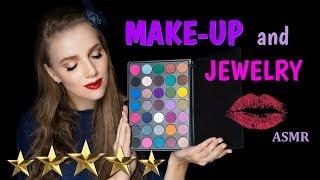 АСМР РОЛЕВАЯ ИГРА 💆 Сделаю вечерний макияж и выберу украшения