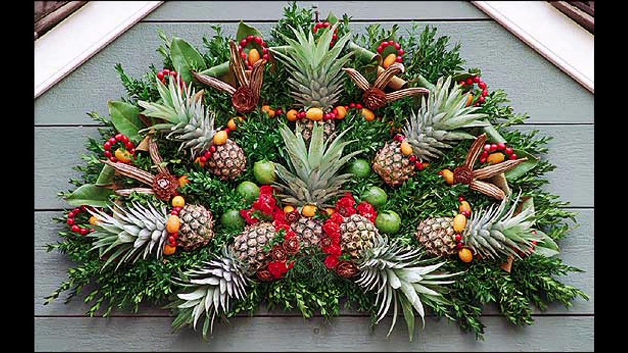 Pineapple Tree Decoration