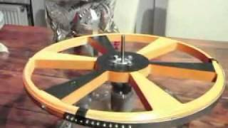 Magnet motor ZPMM description and demo 9 from querdenker79