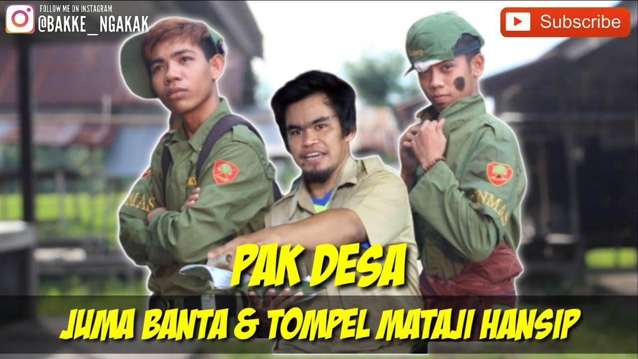 "VIDEO BUGIS LUCU | VIRAL | ""PAK DESA"" PART 1 JUMA BANTA & TOMPEL MANTAJI HANSIP 🤣🤣"