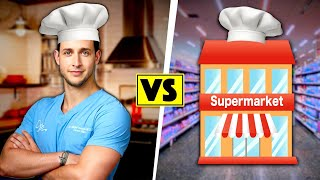 Doctor vs Supermarket: Guess The Chef