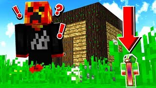 WORLD'S SMALLEST HIDER! - ANT MAN HIDE & SEEK MINECRAFT!