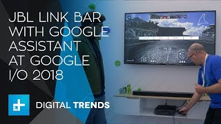JBL Link Bar with Google Assistant at Google IO 2018