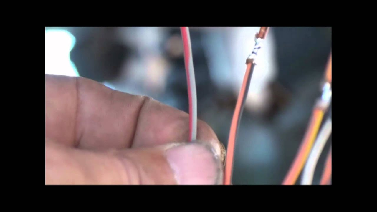 E40D Wiring Connector Replacement and Drive Line - YouTube